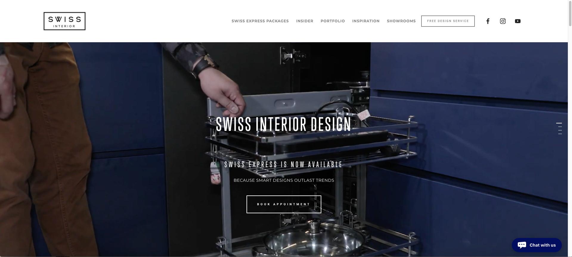 Website - Swiss Express