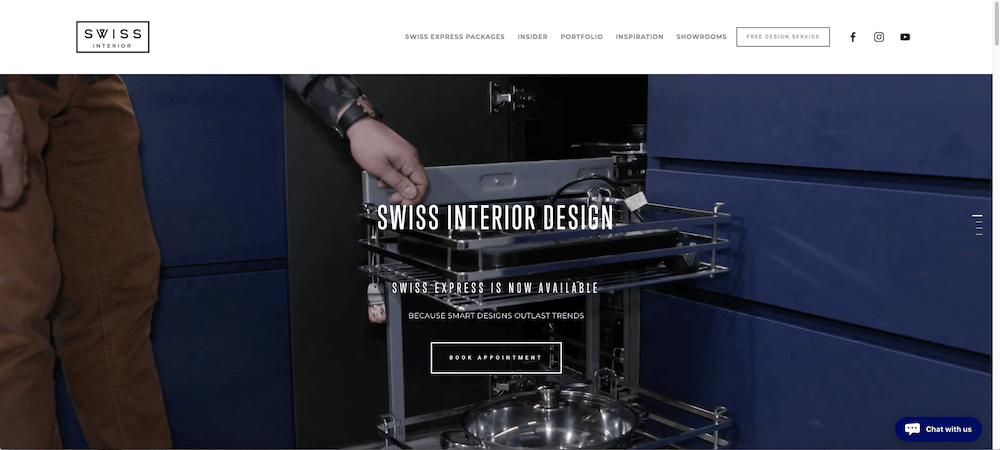 Website - Swiss Express