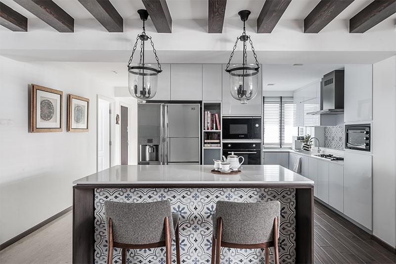 Singapore home design photograph picture grey