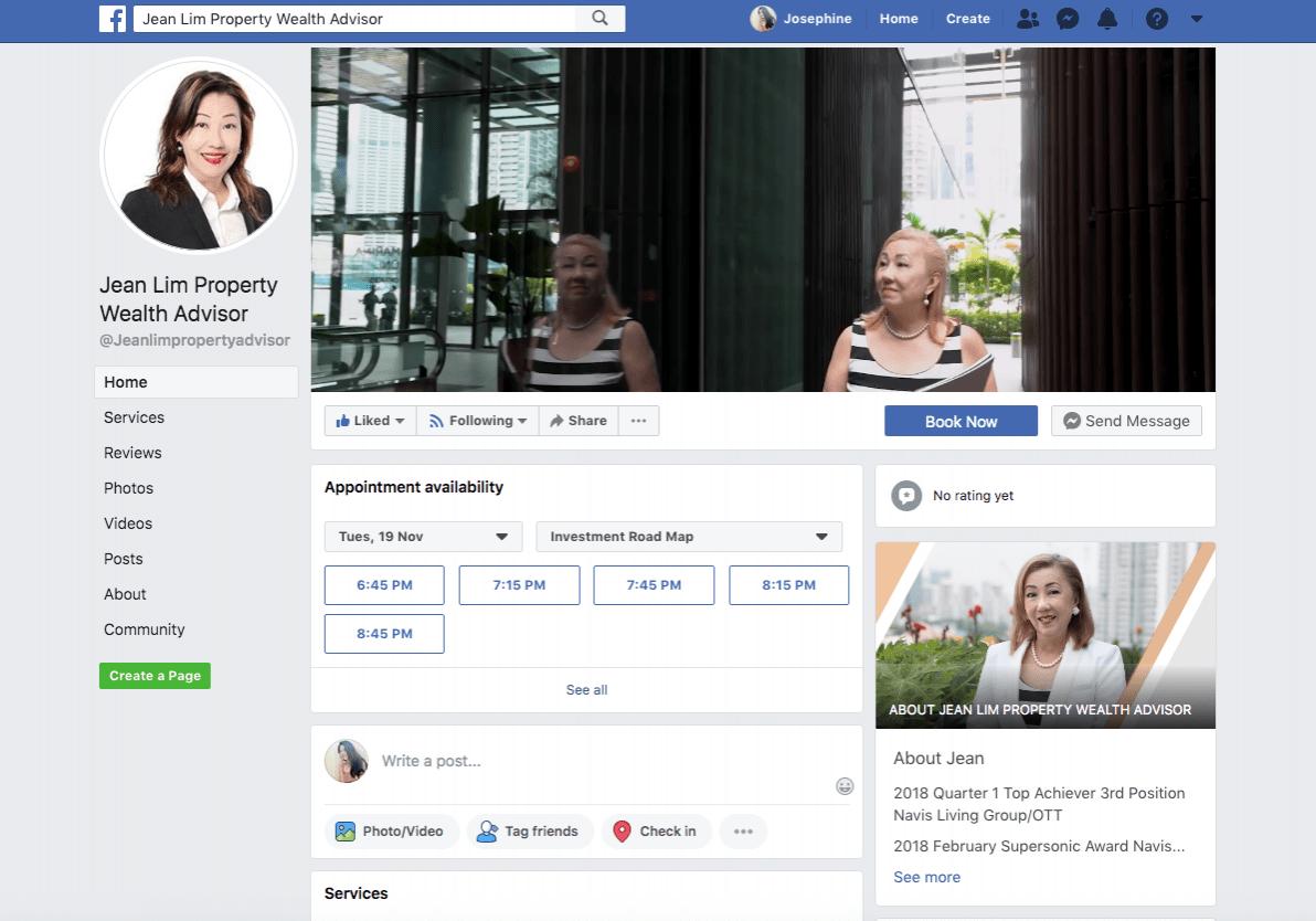 Jean Facebook campaign